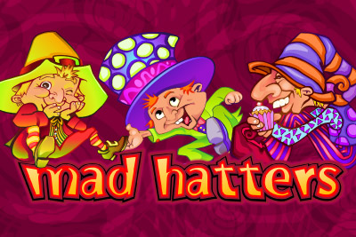 Mad Hatters Mobile Slot Logo