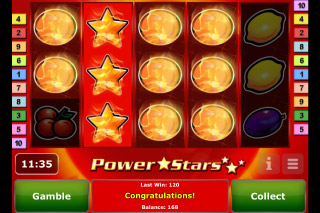 Power Stars Mobile Slot Expanding Wilds