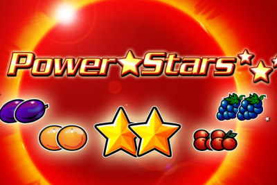 Power Stars Mobile Slot Logo