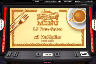 Riverboat Gambler Mobile Slot Free Spins