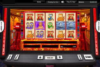 Riverboat Gambler Mobile Slot Screenshot