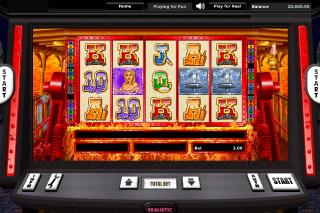 Riverboat Gambler Mobile Slot Screenshot