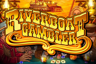 Riverboat Gambler Mobile Slot Logo