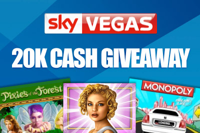 Win your Share of 20K in SkyVegas Triple Game Cash Giveway