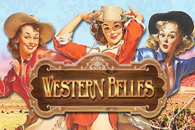 Western Belles Mobile Slot Logo