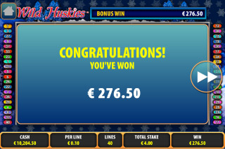Wild Huskies Mobile Slot Free Games Win