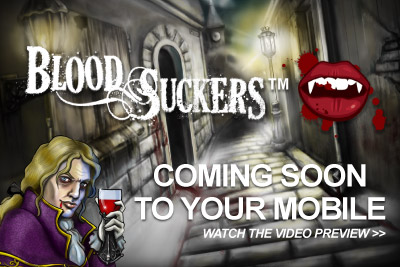 Blood Suckers Slot Coming to Your Mobile Soon