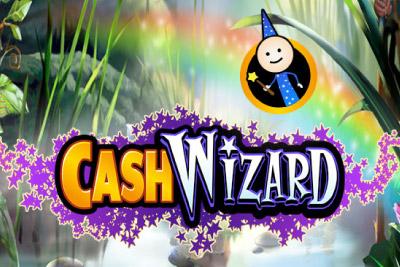 Cash Wizard Mobile Slot Logo