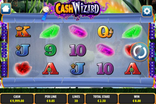 Cash Wizard Mobile Slot Screenshot
