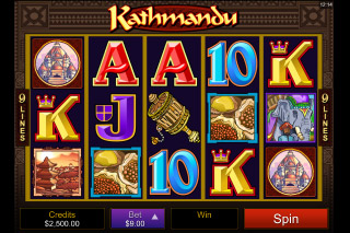 Kathmandu Mobile Slot Screenshot