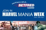 Join In Marvel Mania Week at Betfred Casino