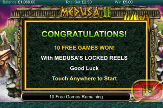 Medusa II Mobile Slot Free Games