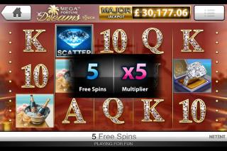 Mega Fortune Dreams Mobile Slot Free Spins