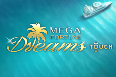 Mega Fortune Dreams Mobile Slot Logo