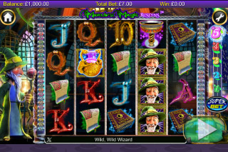 Merlin's Magic Respins Mobile Slot Screenshot