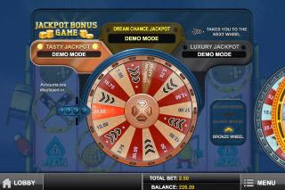 Monster Smash Mobile Slot Jackpot Wheel
