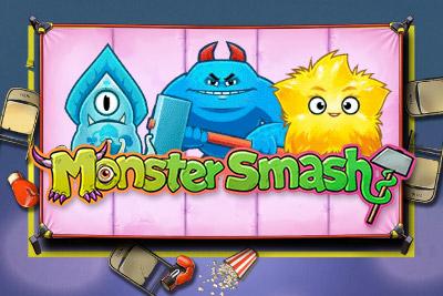Monster Smash Mobile Slot Logo