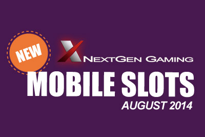 New Mobile Slots Coming in August 2014
