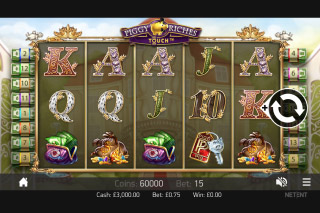 Piggy Riches Touch Mobile Slot Screenshot