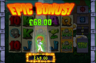 Plants Vs Zombies Mobile Slot Epic Bonus