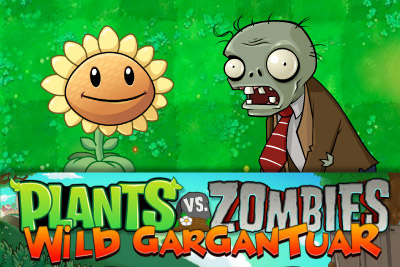 Plants Vs Zombies Mobile Slot Logo