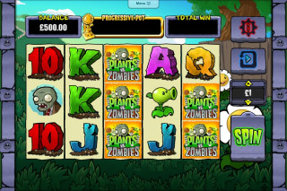 Plants Vs Zombies Slot Screenshot