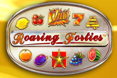 Roaring Forties Mobile Slot Logo
