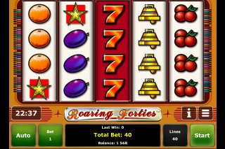 Roaring Forties Mobile Slot Screenshot