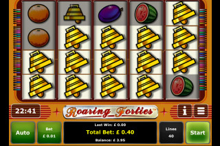 Roaring Forties Mobile Slot Win