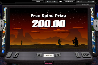 Snapshot Mobile Slot Free Spins Win