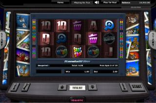 Snapshot Mobile Slot Screenshot