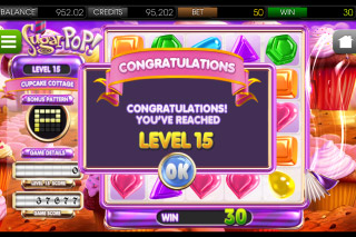 SugarPop Mobile Slot Level 15