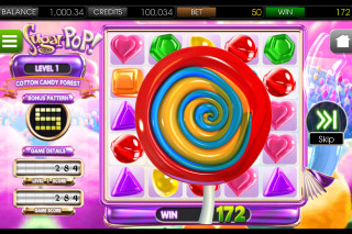 SugarPop Mobile Slot Lollipop Bonus