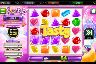 SugarPop Mobile Slot Screenshot