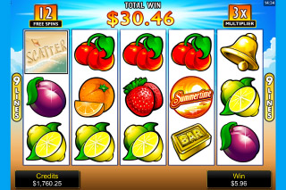Summertime Mobile Slot Free Spins