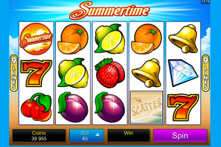 Summertime Mobile Slot Screenshot