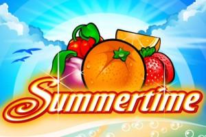 Summertime Mobile Slot Logo