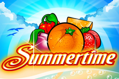 Summertime Mobile Slot Logo