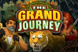 The Grand Journey Mobile Slot Logo