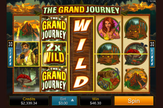 The Grand Journey Mobile Slot Screenshot