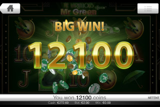 The Marvellous Mr Green Big Win
