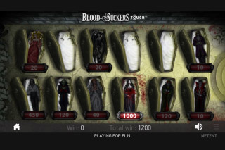 Blood Suckers Slot Bonus Game