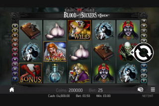 Blood Suckers Slot Screenshot