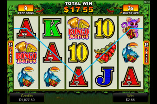 Bush Telegraph Mobile Slot Free Spins
