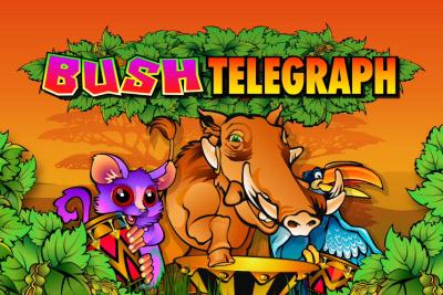 Bush Telegraph Mobile Slot Logo