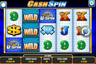 Cash Spin Mobile Slot Screenshot
