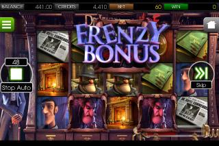Dr Jekyll & Mr Hyde Slot Frenzy Bonus