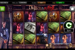 Dr Jekyll & Mr Hyde Slot Screenshot