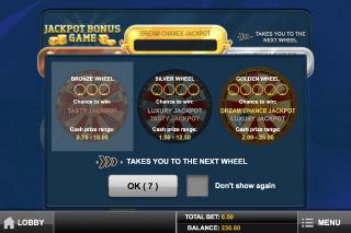 Gem Drop Slot Jackpot Bonus Game