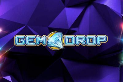 Gem Drop Slot Logo